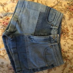Urban outfitters block shorts